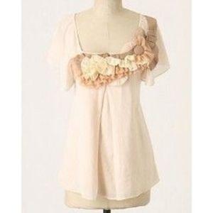 Anthropologie Baraschi | NWT cotton crepe blouse